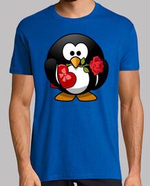 Pingüino con corazón