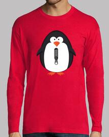 Pinguino con cremallera