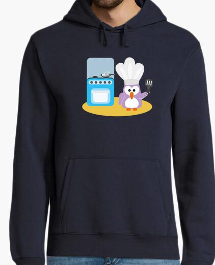 Jersey pingüino del cocinero