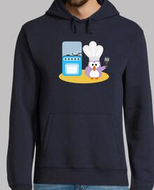 pingüino del cocinero