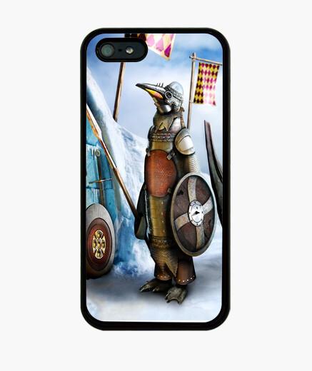Funda iPhone Pingüino medieval