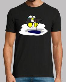 Pinguino Miedica (Delante y Detras)