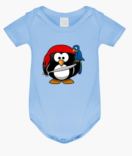 Ropa infantil pinguino pirata