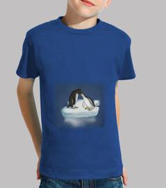 pingüinos enamorados para niño