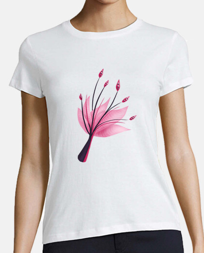 Pink Abstract Water Lily Flower