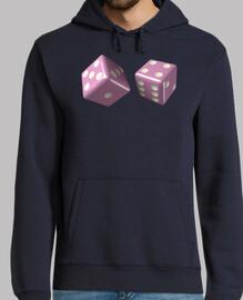 pink dice