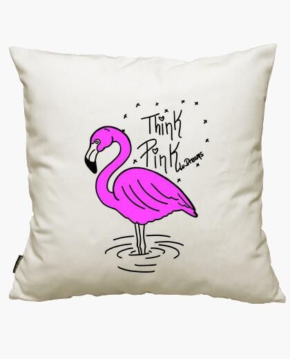 Funda cojín Pink Flamingo