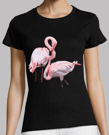 pink flamingos couple