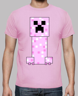 pink minecraft creeper