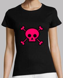 Pink skull...