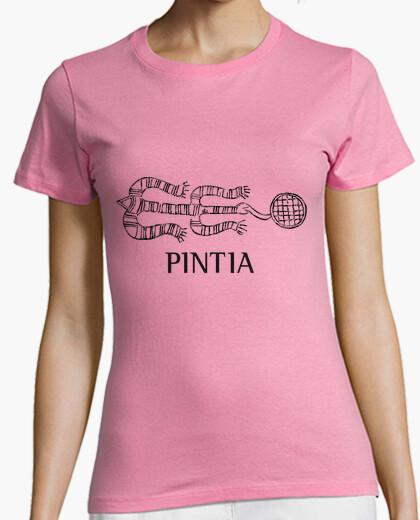 Camiseta Pintia n.º 1, para fondo claro