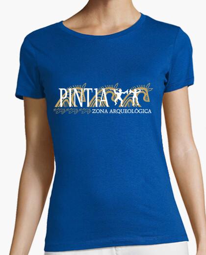 Camiseta Pintia n.º 3, para fondo oscuro