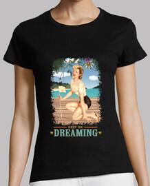 pinup - plage - rêve encore - cru