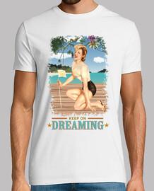 pinup - spiaggia - ancora sognando - vintage
