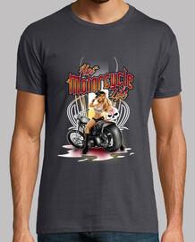 pinup hot motorcycle
