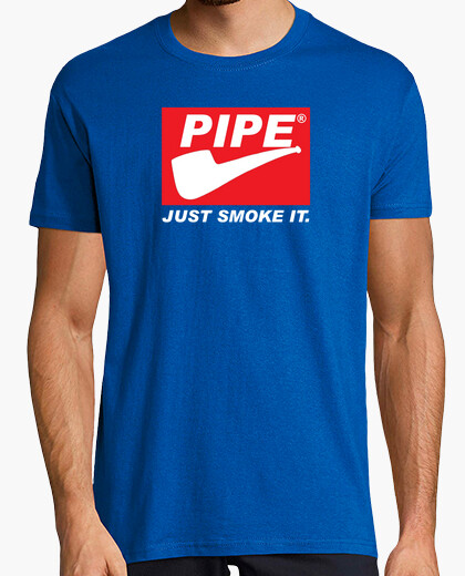 Pipe just smoke it red label edition t-shirt