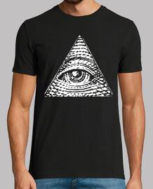 Pirámide Ojo - BLANCO