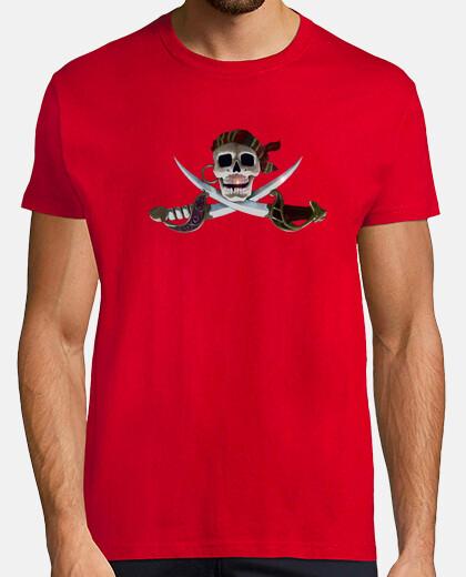 Camisetas Pirata con Espadas