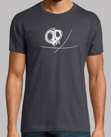 pirata en blanco para camisetas color