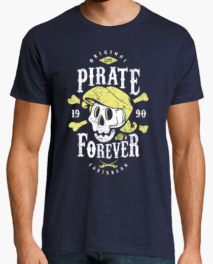 T-shirt pirata forever