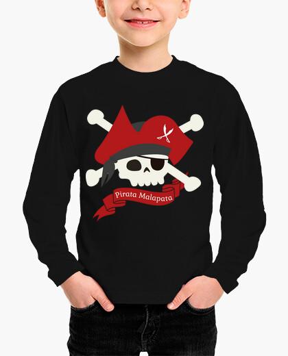 Ropa infantil Pirata Malapata, camiseta infantil