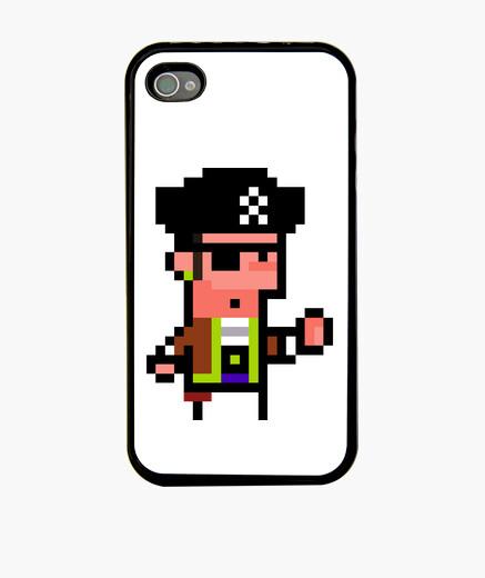 Funda iPhone Pirata pixel art