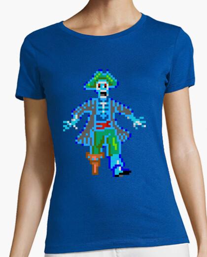 Tee-shirt piratage (femme)