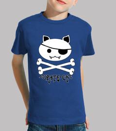 Pirate-Cat - Camiseta  Infantil
