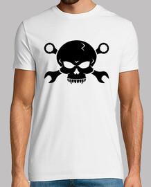 pirate  tête de mort  n os 2 vis (noir)