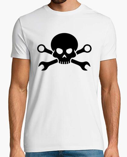 Tee-shirt pirate  tête de mort  n os vis 1 (noir)