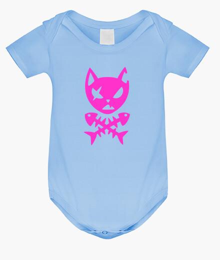 Pirate cat kids clothes