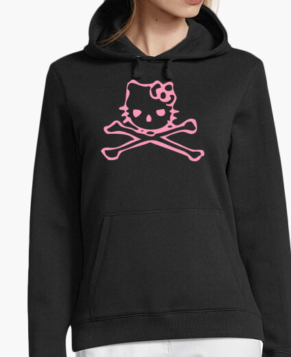 Pirate Kitty - jersey con capucha