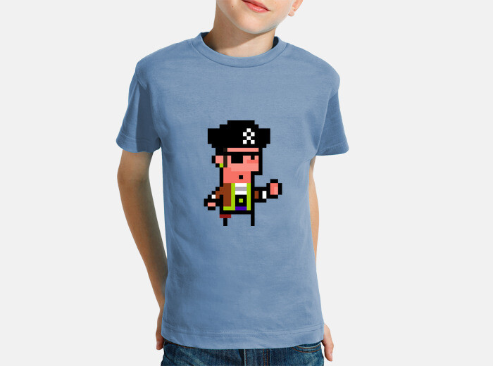 Vêtements Enfant Pirate Pixel Art Enfant 257801 Tostadora Fr
