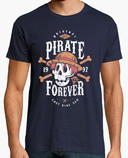 Tee-shirt Pirate recherché pour toujours