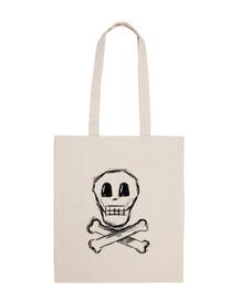 pirate sac en tissu 100% coton