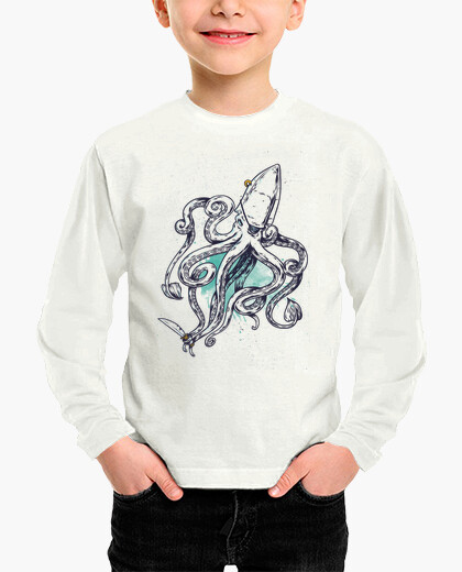 Ropa infantil pirate squid