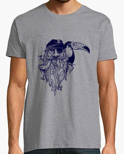 Tee-shirt Pirate toucan tatoo