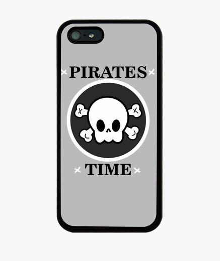 Coque iPhone pirates b & n