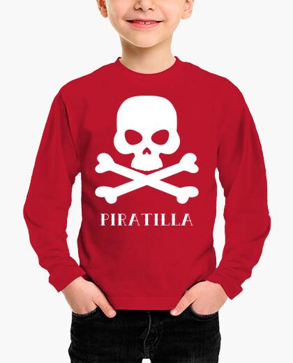 Piratilla (white) kids clothes