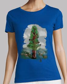 pittura donna forest