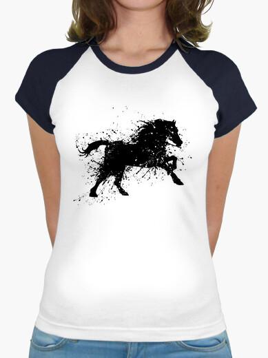 T-shirt pittura horse