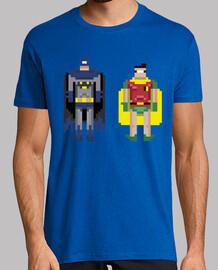 Pixel Art Bat man