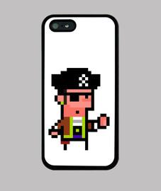 pixel art pirata