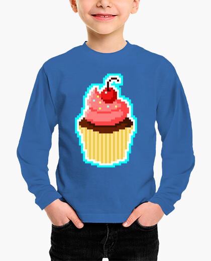 Ropa infantil Pixel Cupcake