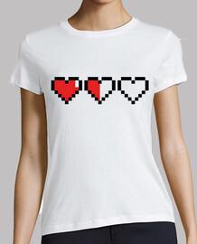 pixel gamer coeurs / match de coeur
