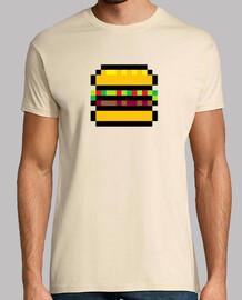 pixel hamburger