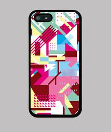pixel pattern - coque