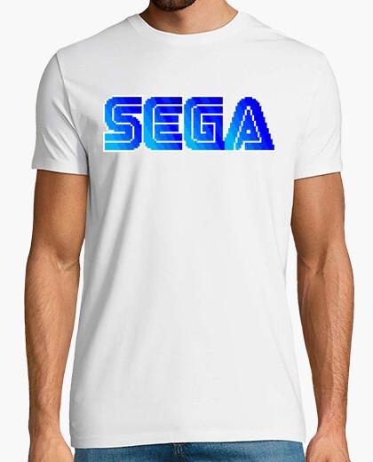 Tee-shirt pixel retrosega