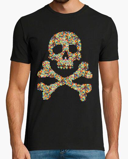 Camiseta Pixel Skull