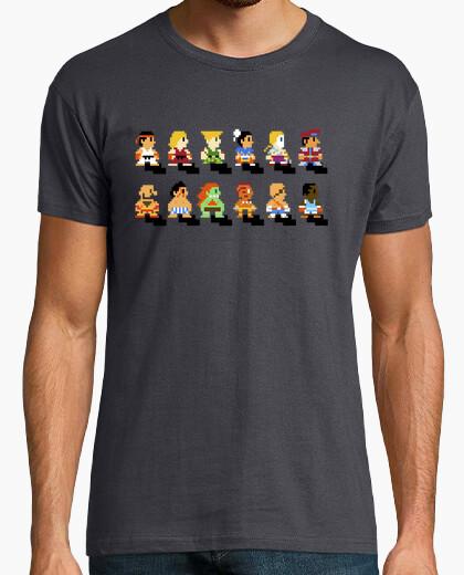 Camiseta Pixel Street Fighter